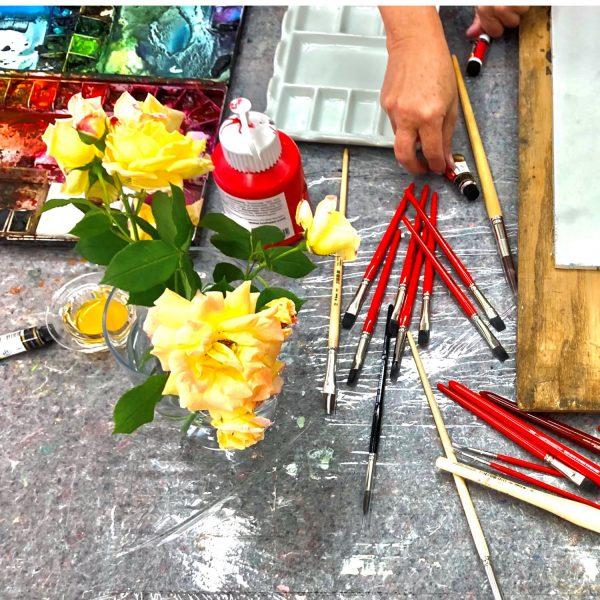 HONNY ROBUSTO synthetic artist brush for all media