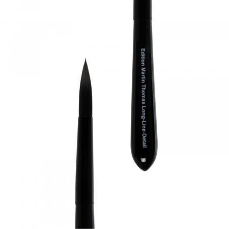 lineo artist brush for details and long lines. lineo Edition Martin Thomas. Handmade round artist brush. Use with all paints.