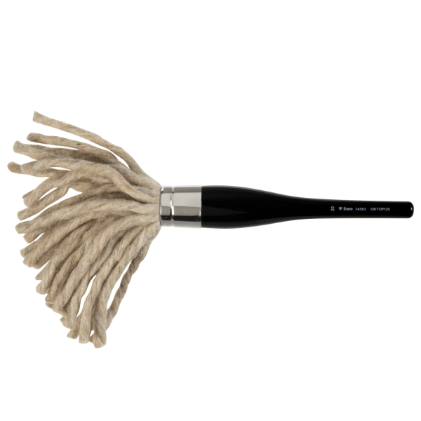 Paint like Monet. lineo Oktopus artist brush is from Edition Martin Thomas. Paint with acrylic and oil colors.