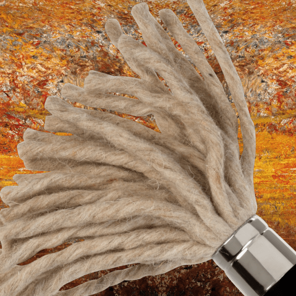 Innovative artist brush for special effects. Handmade in Germany. For Oil and Acrylic paints.