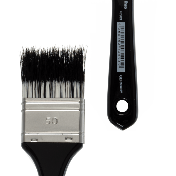 Flat artist brush size 50 for special and delicate effects. Best for oil and acrylic colours.