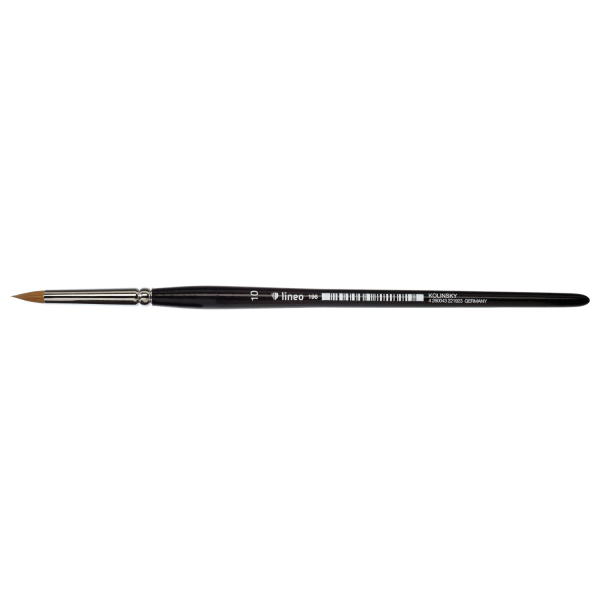 Kolinsky Brush. lineo Series 196 handmade water colour brush.