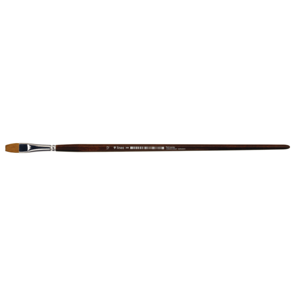 Artist Brush Red Sable. Best for oil painting. Long nice wooden handle. Handmade in Germany.