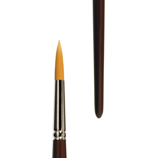 lineo brush series 392. Round brush best for oil paint and acrylic paint.