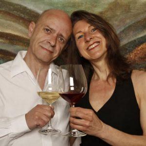 Acrylic and Oil color artist Martin Thomas and Sylvia Homberg