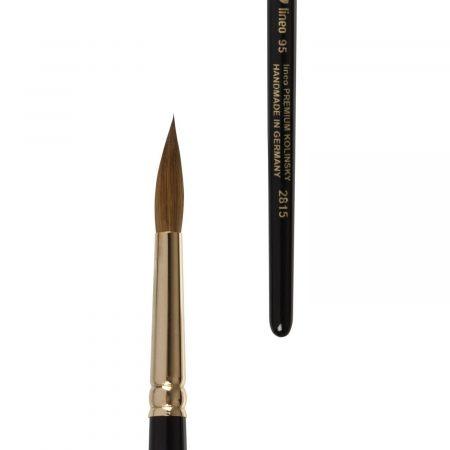 lineo premium kolinsky water color brush for artists