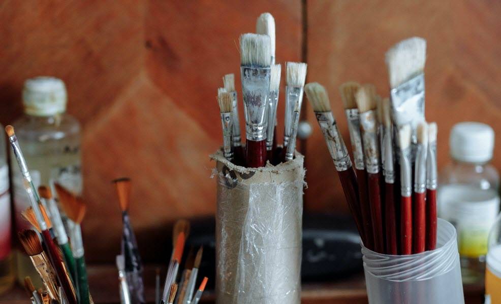 Artist Brush Cleaning – With Martin Thomas